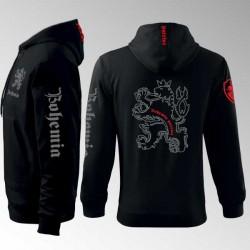 Mikina s kapucí a potiskem - Bohemia 9MZ
