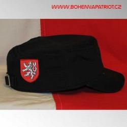 Čepice Bohemia s výšivkou