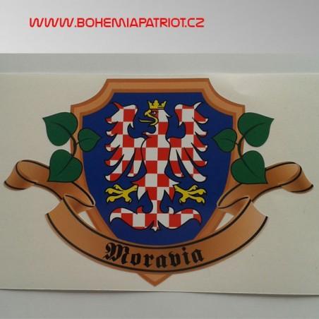 Samolepka Moravia erb