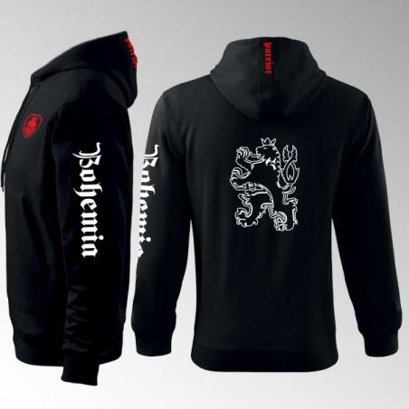 Mikina s kapucí a  potiskem - Bohemia 3MZ