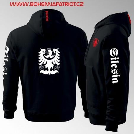 Mikina s kapucí a potiskem - Silesia 3MZ