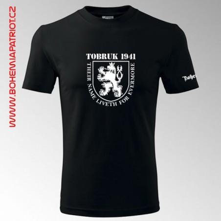 Tričko s potiskem Tobruk 1T