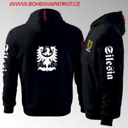 Mikina s kapucí a  potiskem - Silesia 7MZ