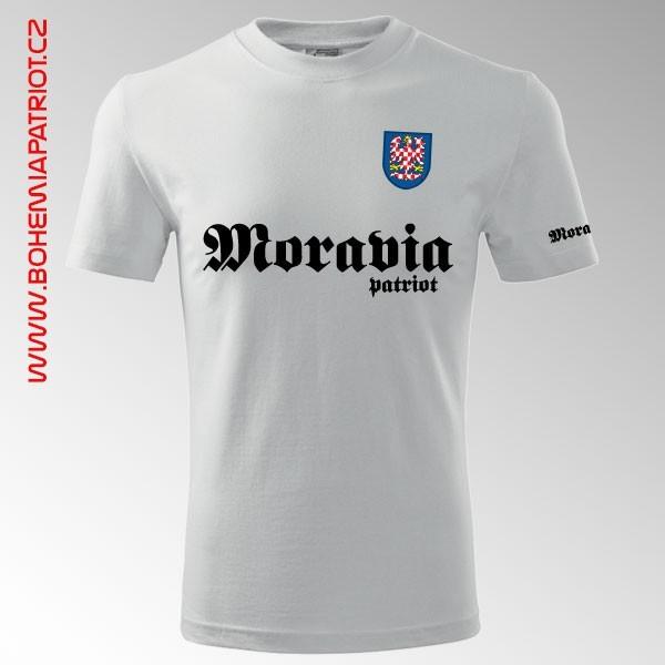 Tričko s potiskem Moravia 12T