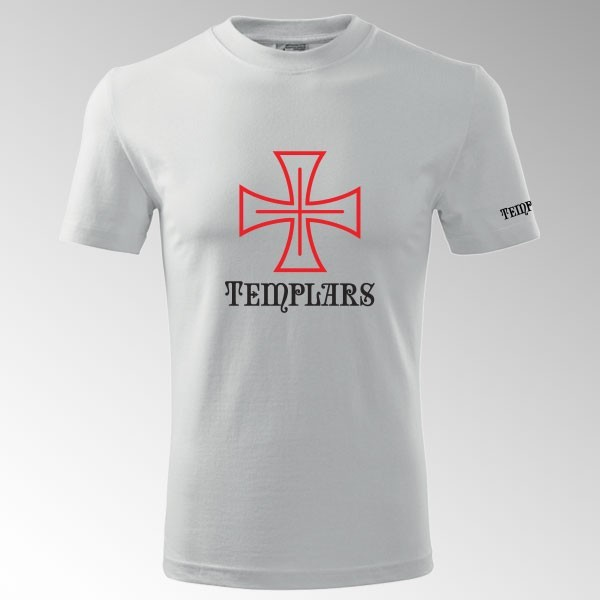 Tričko Tamplář 1T s potiskem