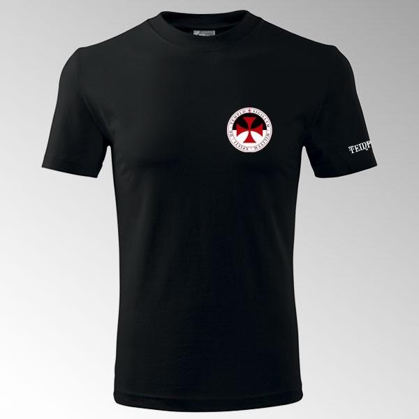 Tričko s potiskem Templář 6T