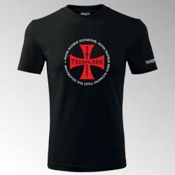 Tričko s potiskem Templář 5T
