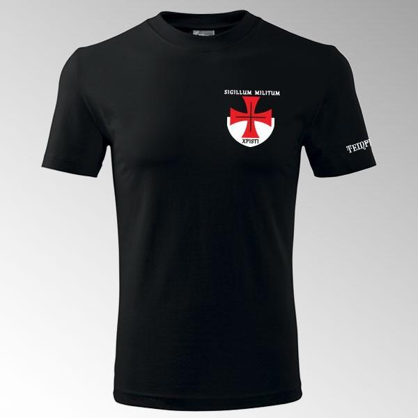 Tričko s potiskem Templář 3T