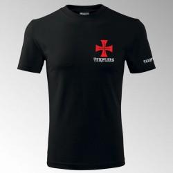 Tričko s potiskem Templář 2T