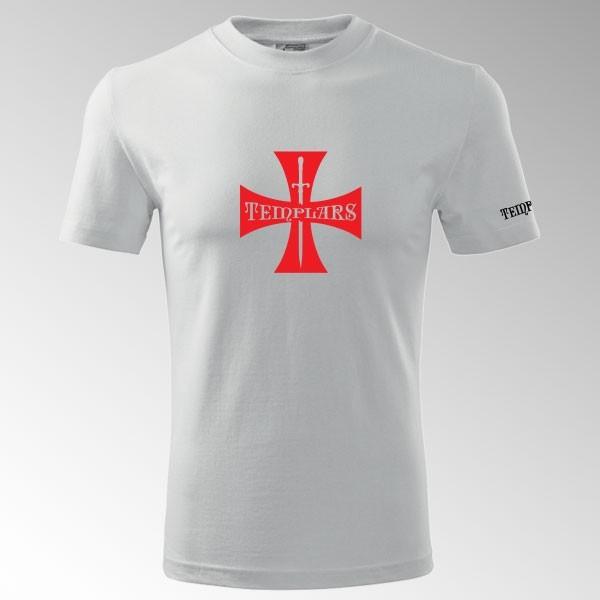 Tričko s potiskem Templář 4T