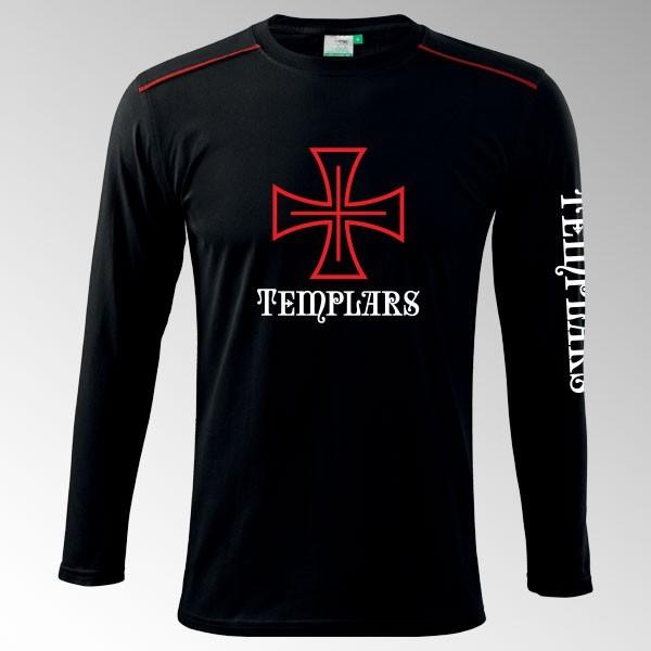 Tričko s dl. rukávem Templář 1DR