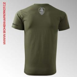 Tričko military s potiskem Country 2T