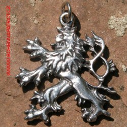Český lev - amulet