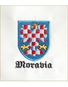 Vlastenecká trička Moravia | Bohemia patriot