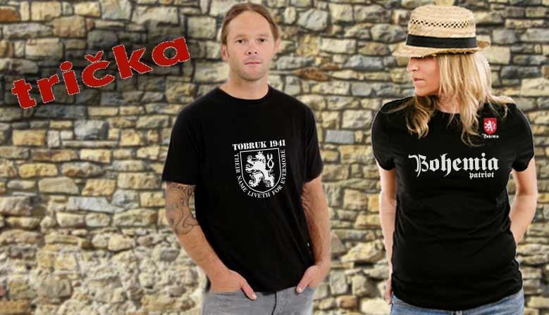 Naše trička - Bohemiapatriot
